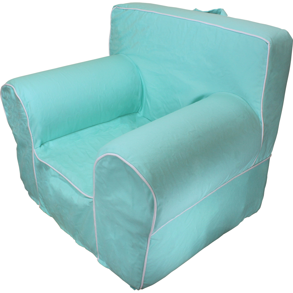 Insert for pottery barn anywhere chair with aqua marine for Anywhere chair