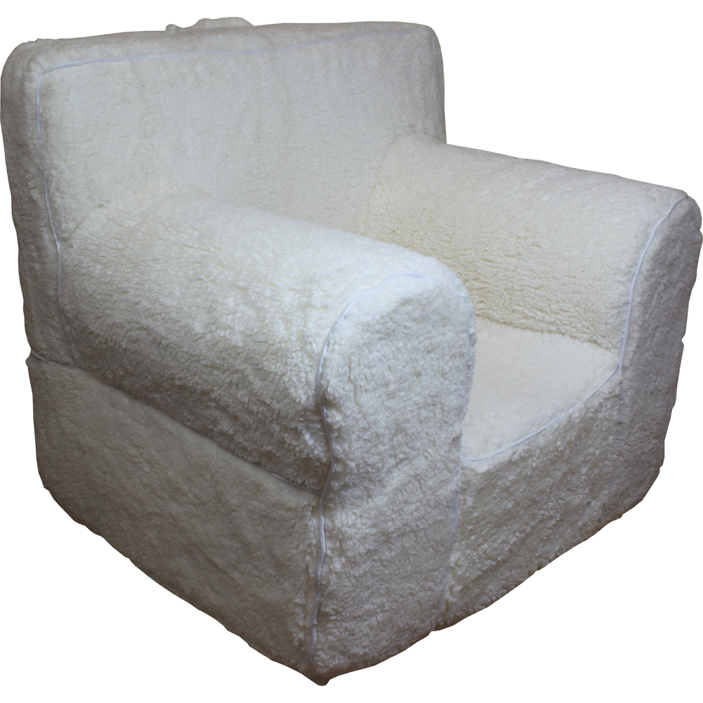 Insert for pottery barn anywhere chair cream sherpa for Anywhere chair