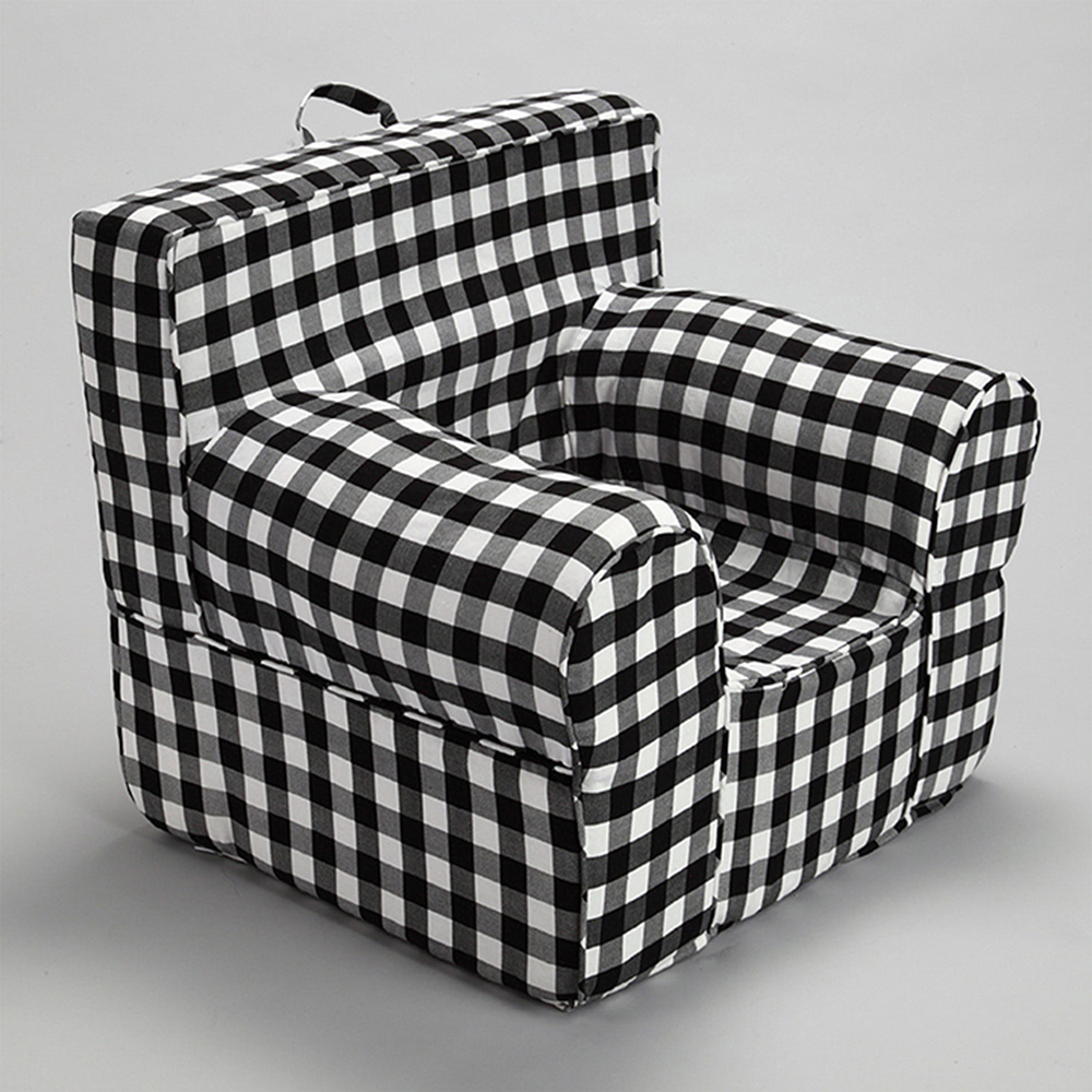 Insert For Pottery Barn Anywhere Chair With Black Gingham