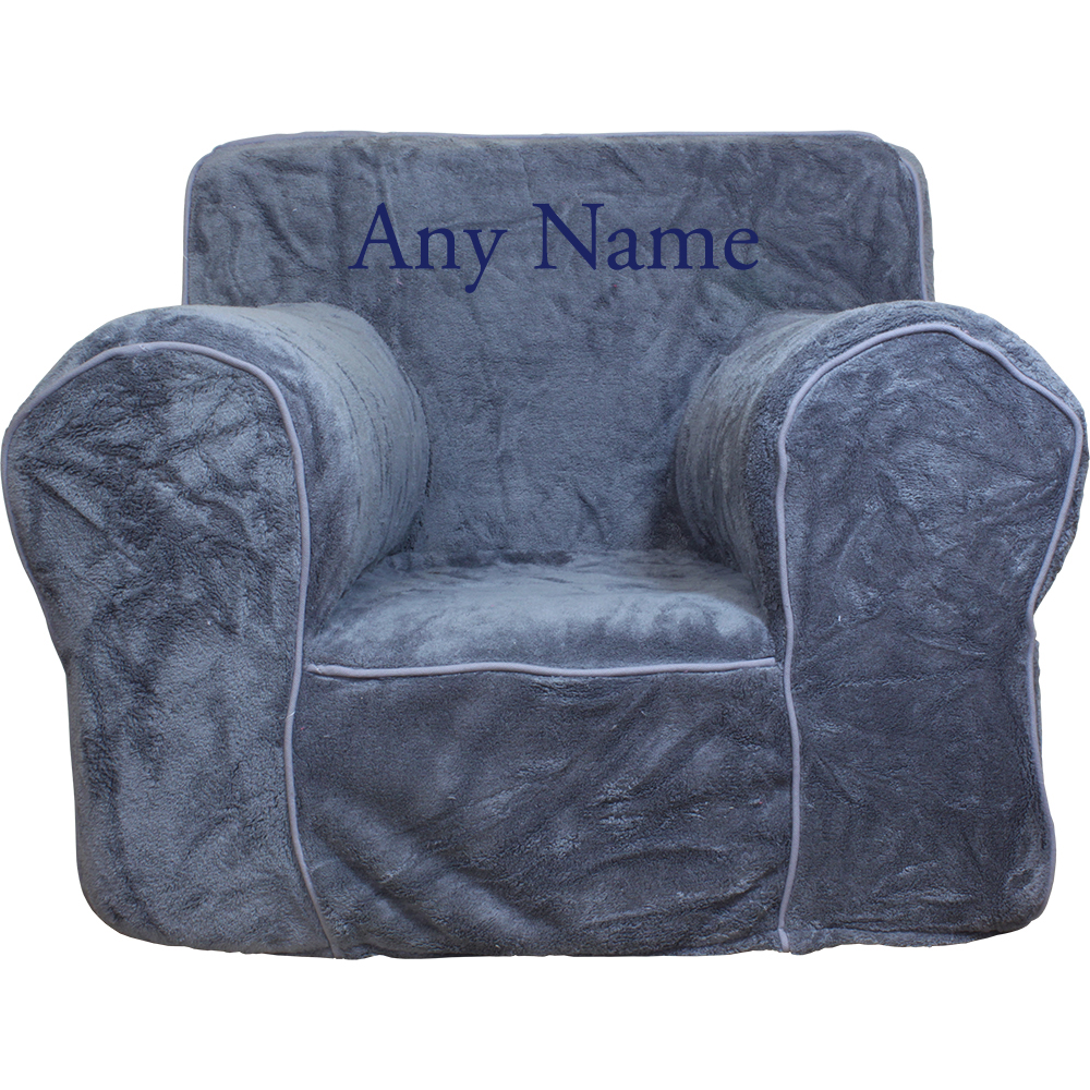 Insert For Pottery Barn Anywhere Chair Gray Plush Cover
