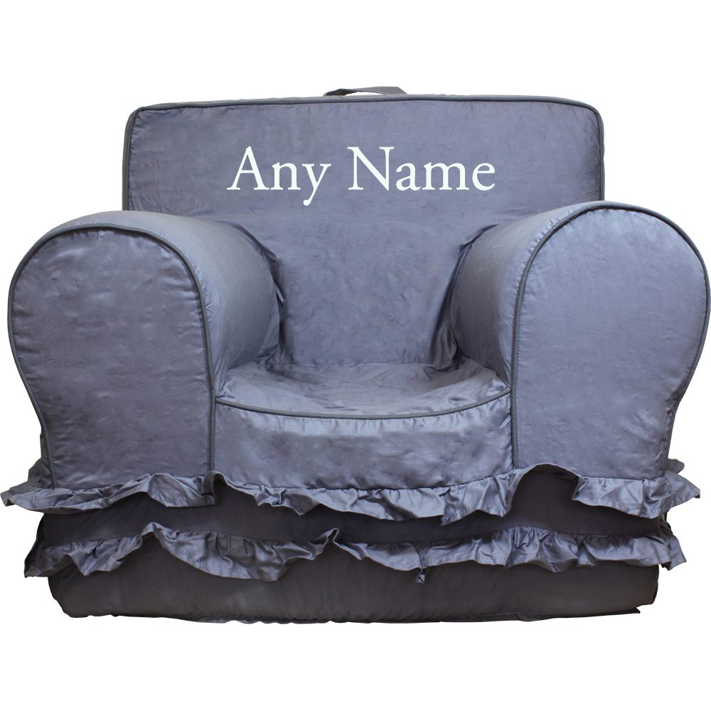 Insert For Pottery Barn Anywhere Chair Grey Ruffle Cover