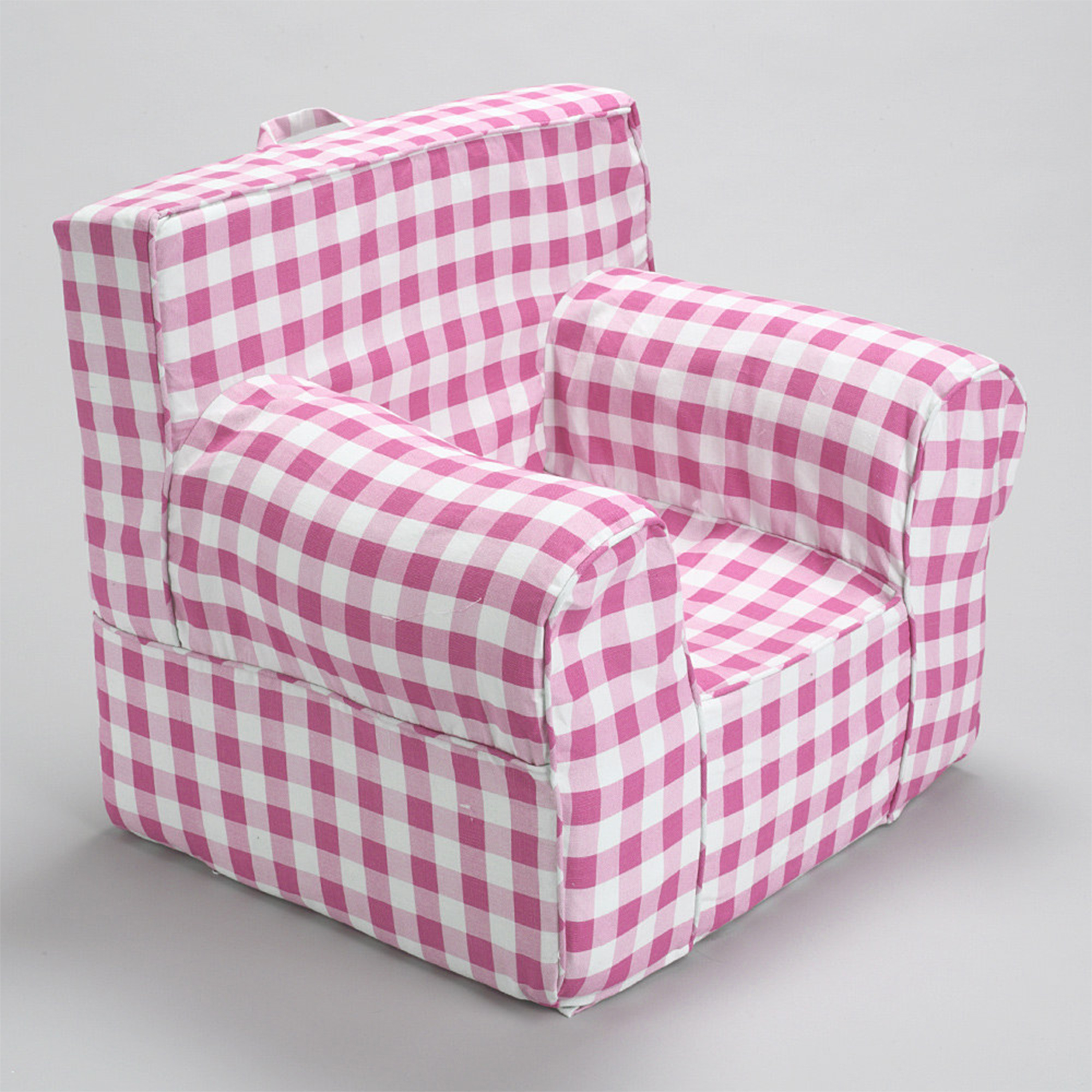 INSERT FOR POTTERY BARN ANYWHERE CHAIR INCLUDES PINK GINGHAM SLIP